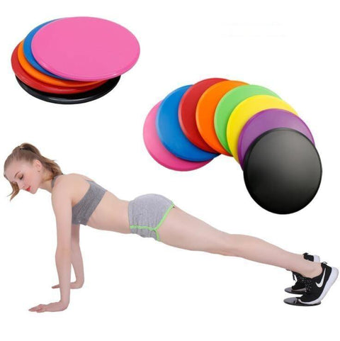 2x Abdominal Core Trainer Sliding Discs - Gorilla Workouts