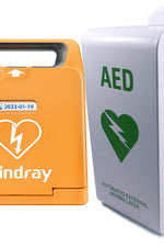 Mindray BeneHeart C1A Public Defibrillator and AED Cabinet Package