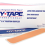 25 Packs of 4 strips Pre-Cut Single Use HyTape Hypoallergenic Strips