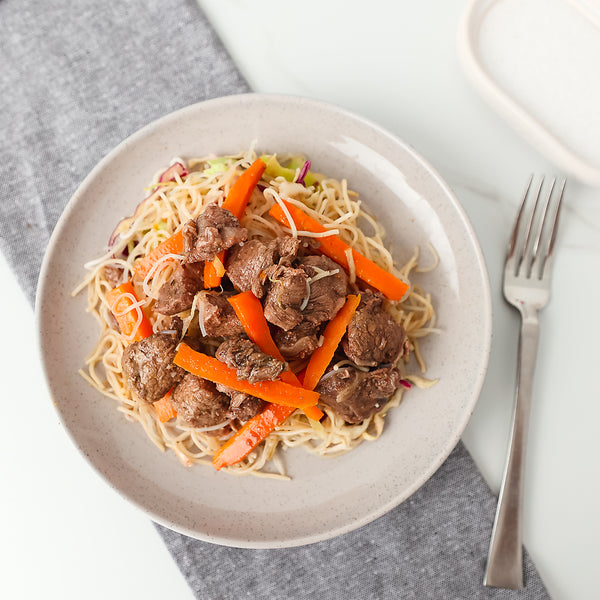 Beef Thai Style Salad with rice Noodles