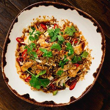 Bali Inspired Mie Goreng With Chicken