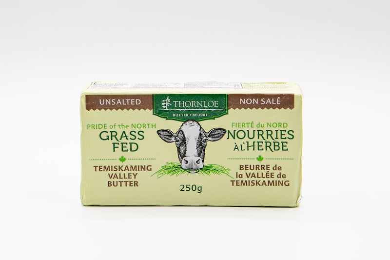 Thornloe Grass-Fed Unsalted Butter