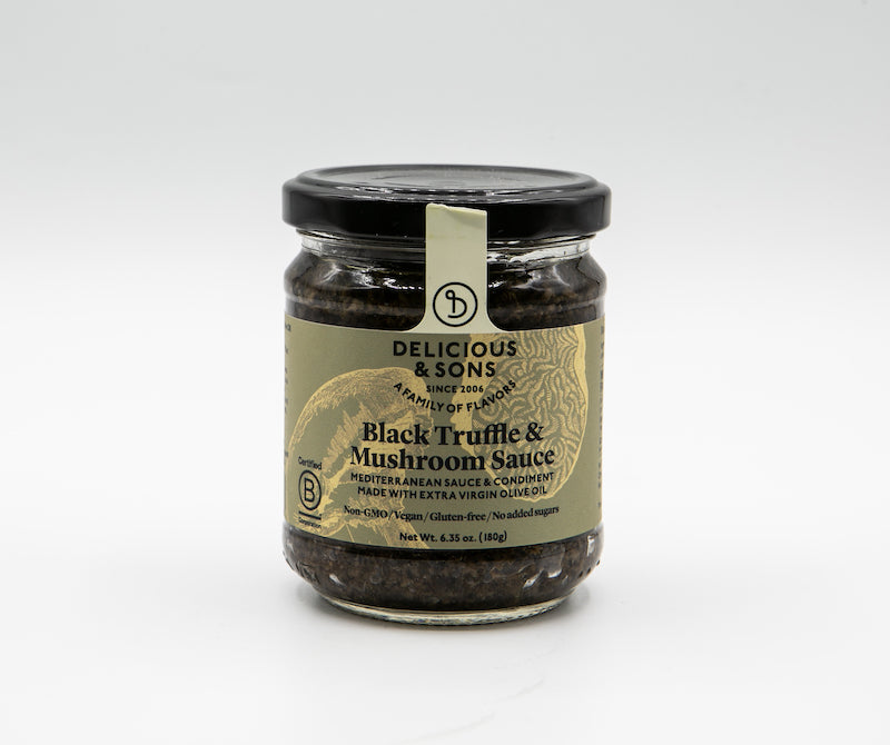 Delicious and Sons Black Truffle and Mushroom Sauce