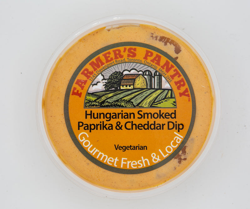 Hungarian Smoked Paprika and Cheddar Dip