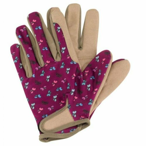 Briers Ladies Professional Gardening Gloves Flutterfly MEDIUM/Size 8