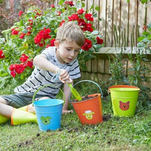 Load image into Gallery viewer, Briers Kids Childrens Metal Outdoor Gardening Buckets