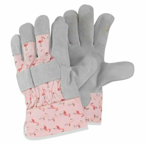 Womens/Ladies Briers Flamboya Flamingo Thorn Resistant Tuff Rigger Gloves Size 8