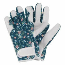 Load image into Gallery viewer, Briers Ladies Leather Professional Gardening Gloves Fleurette Medium/Size 8