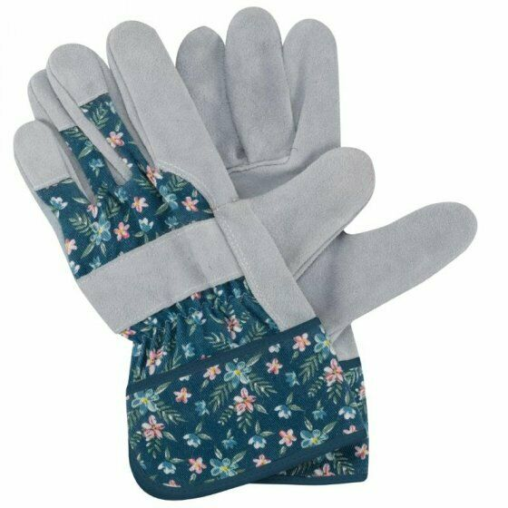 Womens/Ladies Briers Fleurette Breathable Tuff Rigger Gloves Size 8