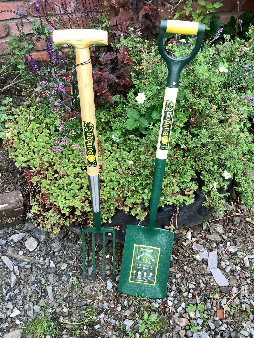 Bulldog Premier Border Fork & Evergreen Digging Spade Pack
