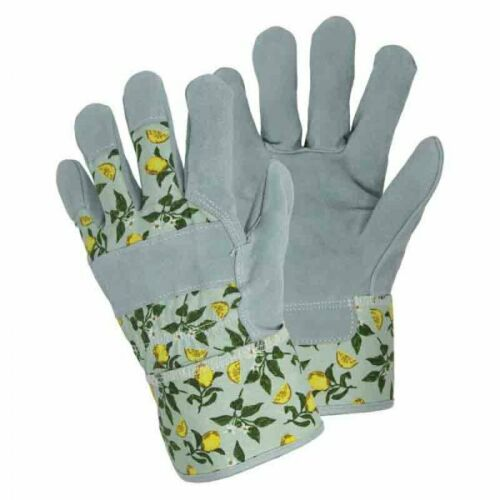 Womens/Ladies Briers Sicilian Lemon Breathable Tuff Rigger Gloves Size 8