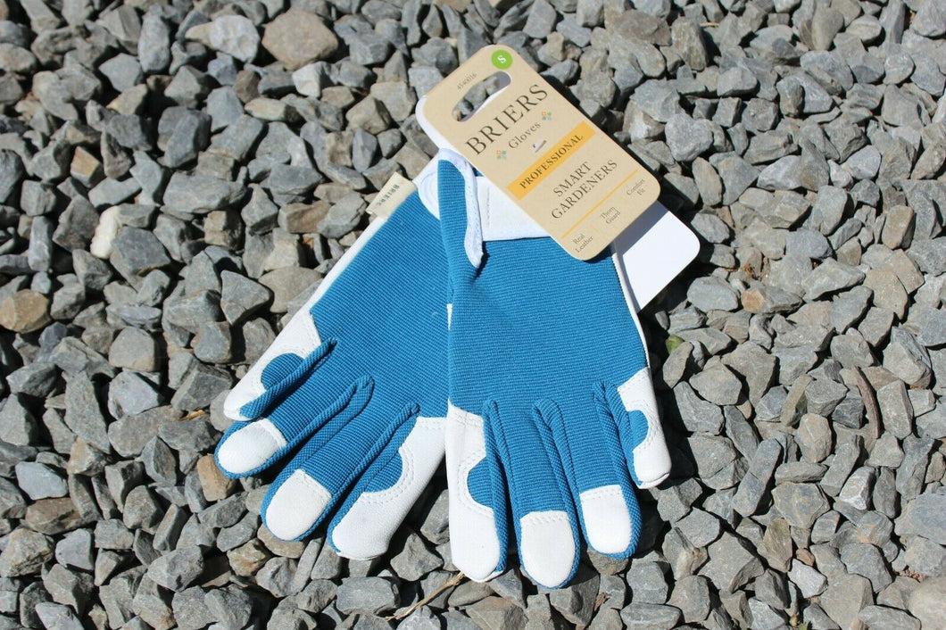 Womens/Ladies Blue Briers Professional Smart Gardener Gloves S/7