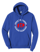 Load image into Gallery viewer, Adult Hoodie - Circle the Wagons 2020 Division Champions