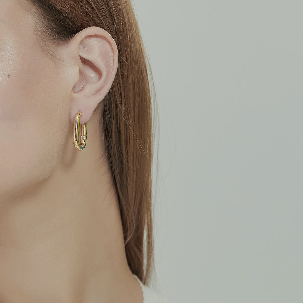 Whizz The French Chunky Hoop Earrings