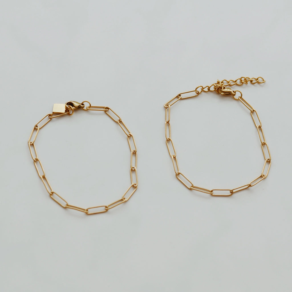 Whizz The Paperclip Chain Linked Bracelet