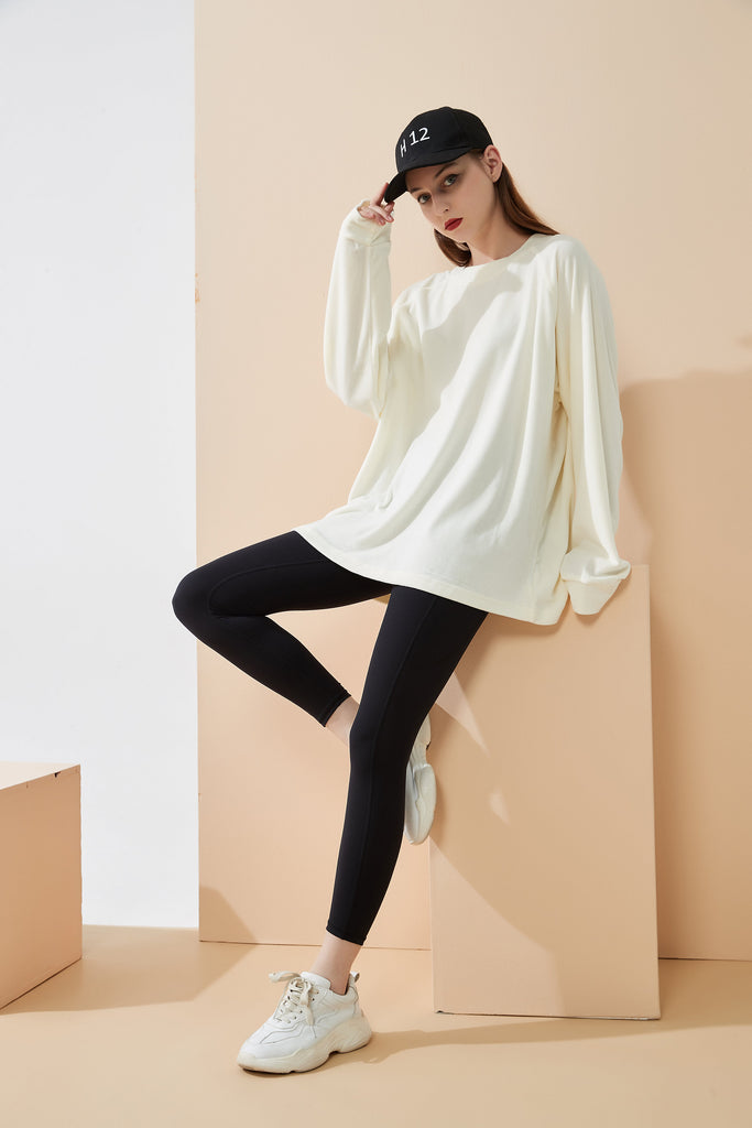 Whizz Ultra Soft Mink Velvet Sweater