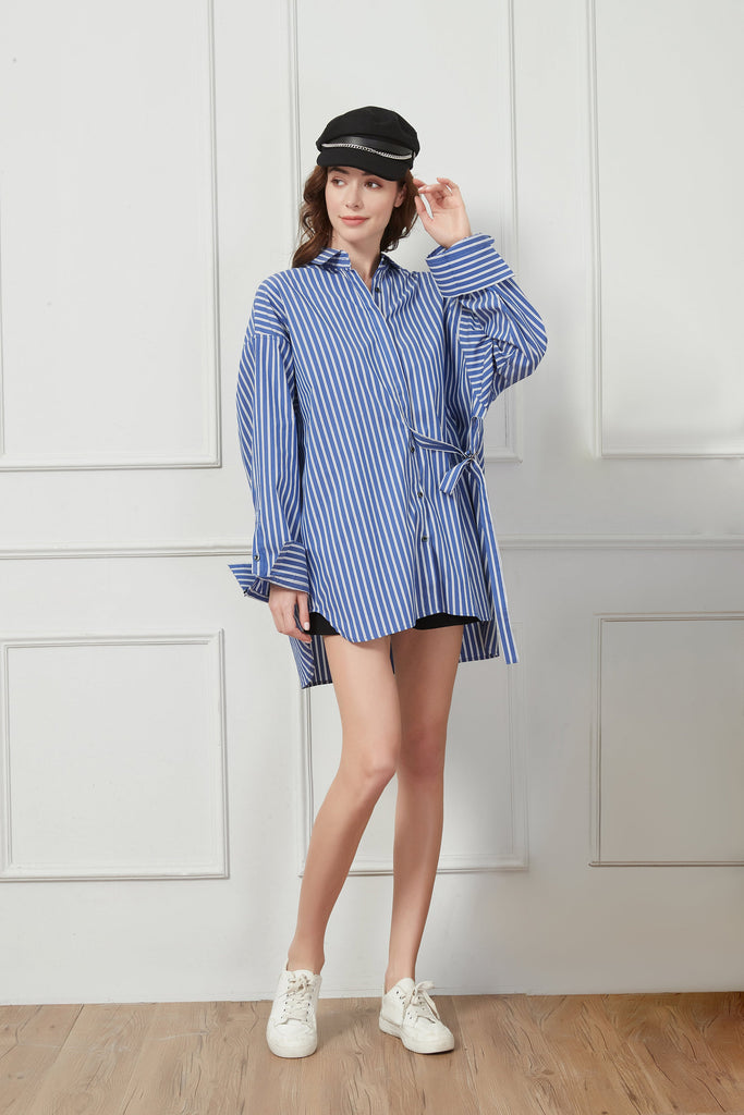 Whizz Oversized Boyfriend Shirt