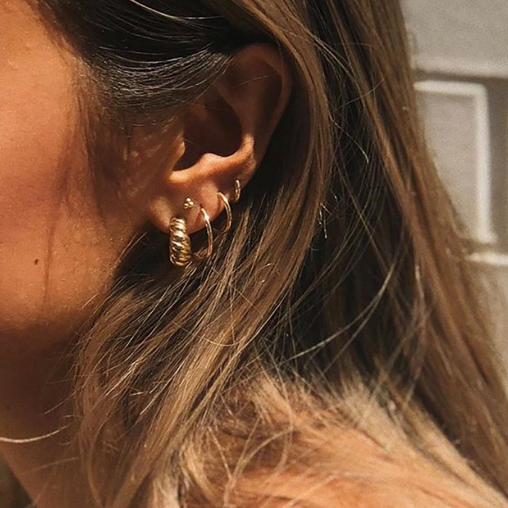 Whizz The Petite Croissant Earrings