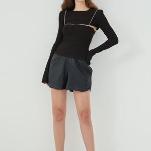 Agnes Two-Piece Cut Out Top