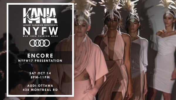 KANIA X NYFW17 SS18' Encore Presentation: Oct 14th 2017