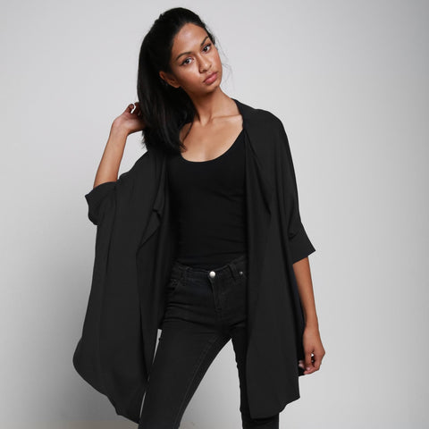 FLO CARDIGAN BLACK