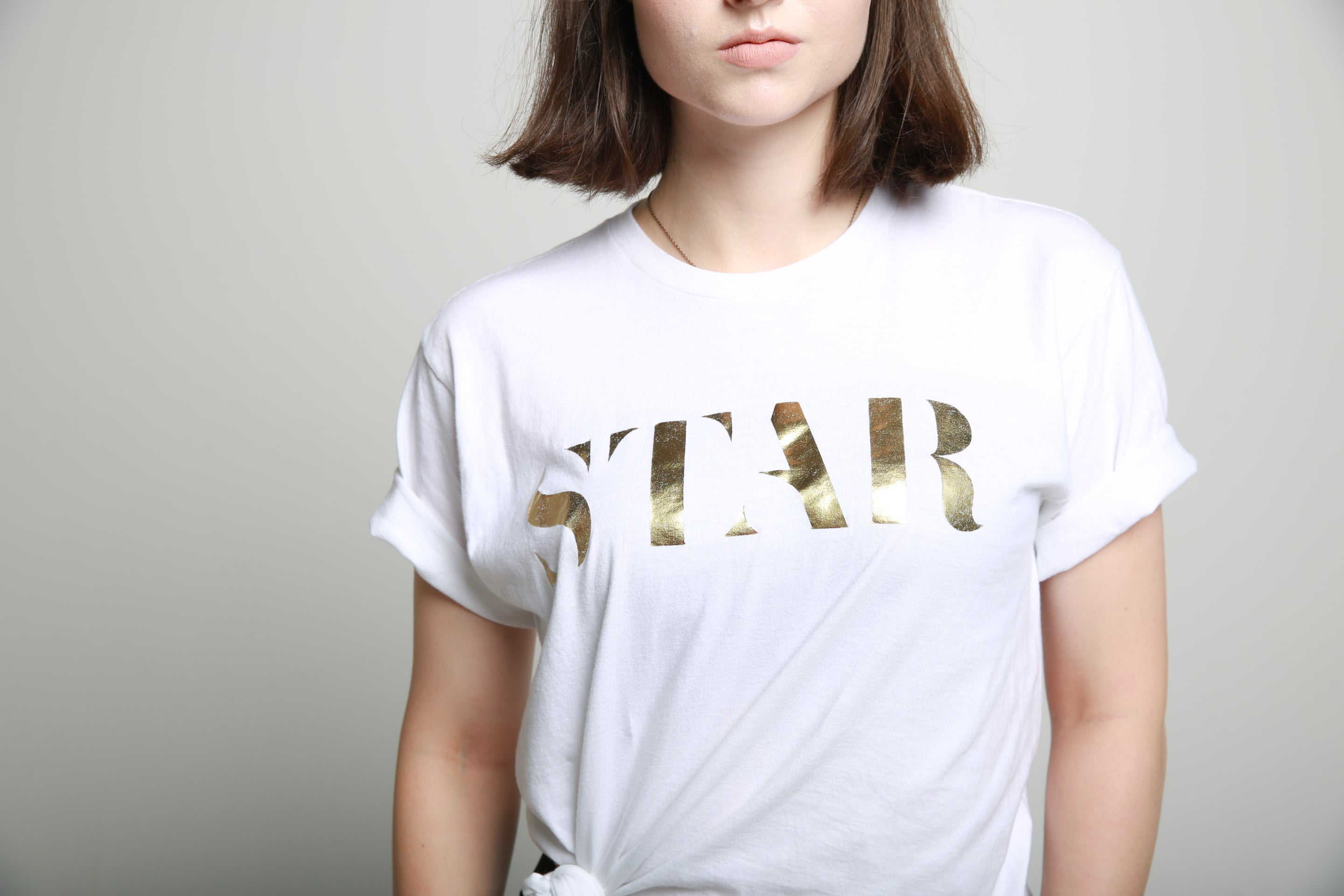 STAR TSHIRT WHITE