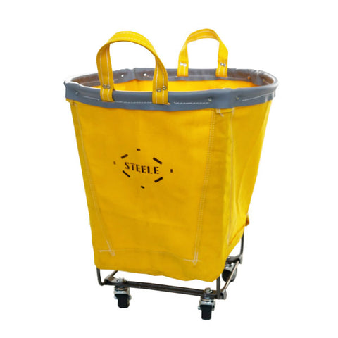 Yellow Canvas Small Round Truck - 1.5 Bu