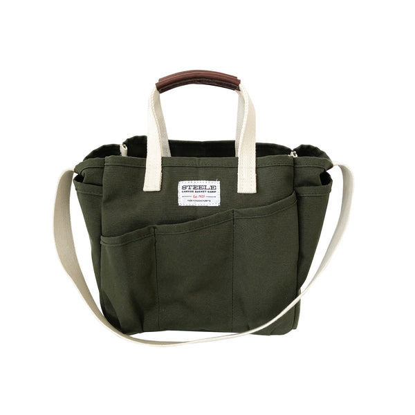 Steele Utility Tote - Olive Canvas