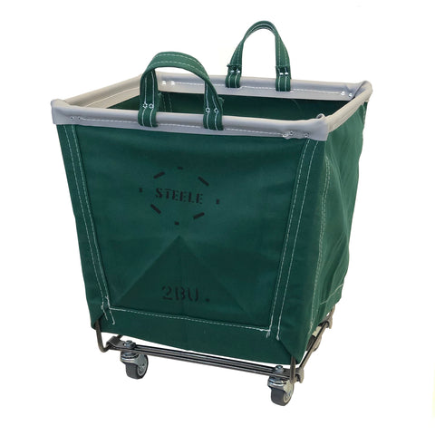 GREEN Canvas Square Carry Truck - 2 Bu