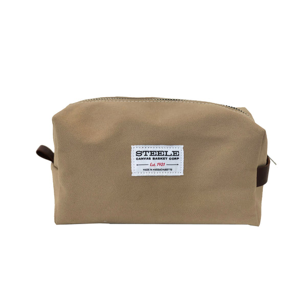 Steele Dopp Kit - Khaki Canvas