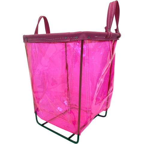 PINK Small Round Basket - 1.5 Bu