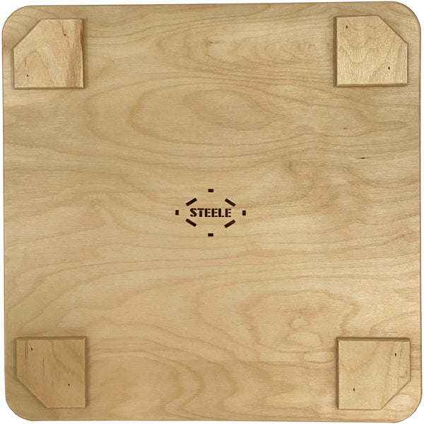 Square Wood Lid - 2 Bu.