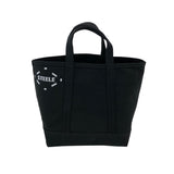 Small Black Canvas Tote