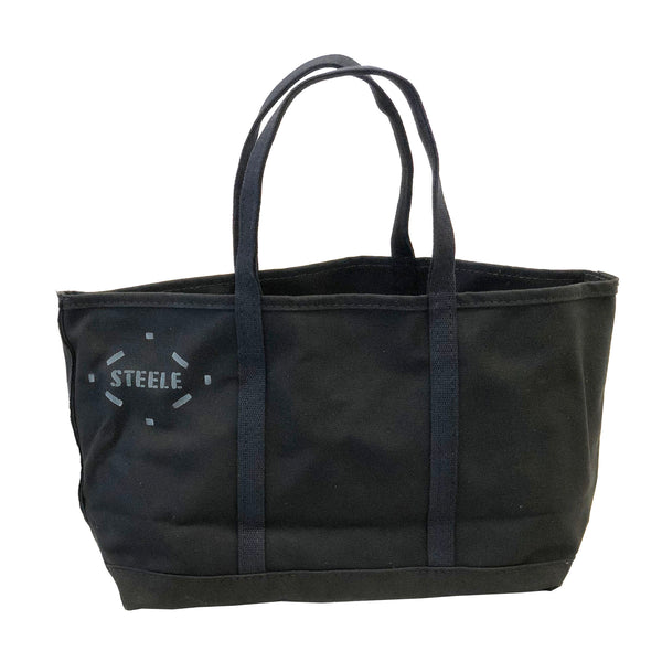Black Canvas Tote