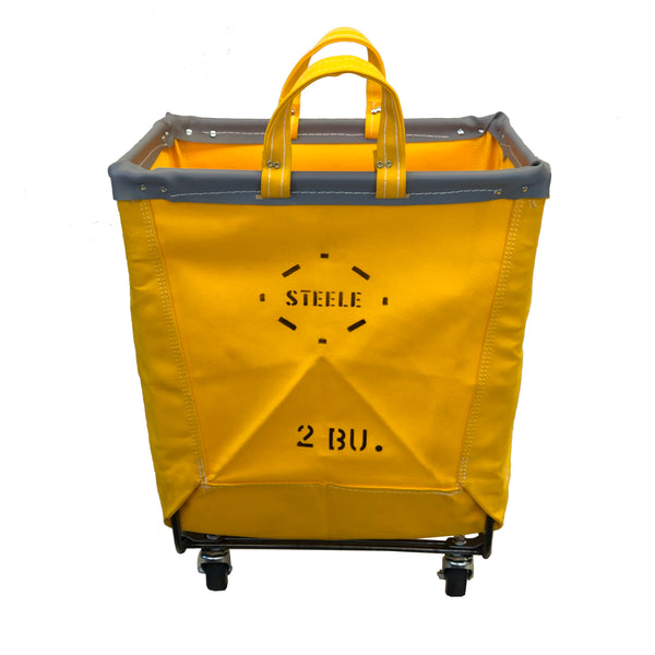 YELLOW Canvas Square Carry Truck - 2 Bu