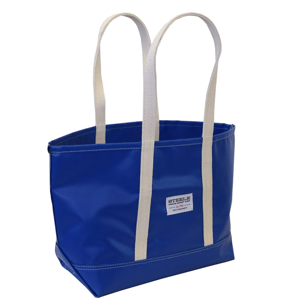 Blue Steeletex Beach Tote - Small