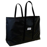 Black Steeletex Beach Tote - Wide