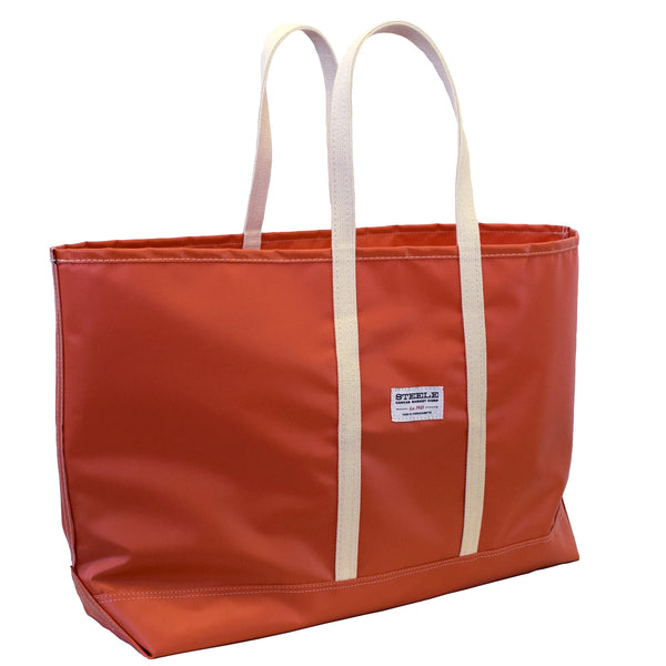 Orange Steeletex Beach Tote - Wide