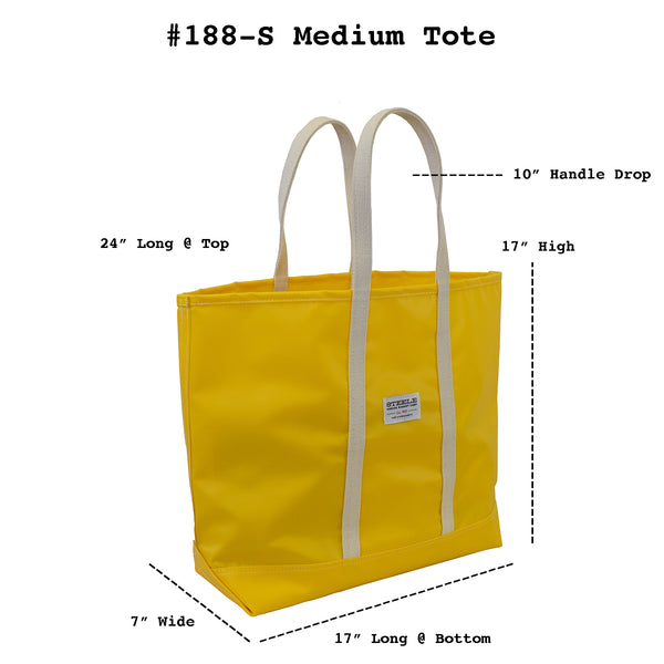 Yellow Steeletex Beach Tote - Medium
