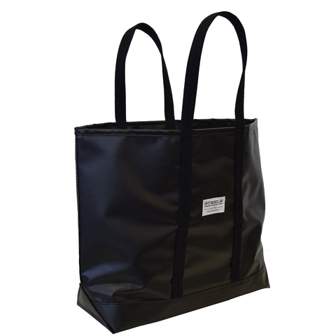 Black Steeletex Beach Tote - Medium