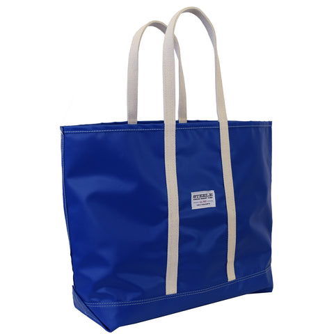 Blue Steeletex Beach Tote- Medium