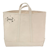 Natural Canvas Tote Bag - Medium