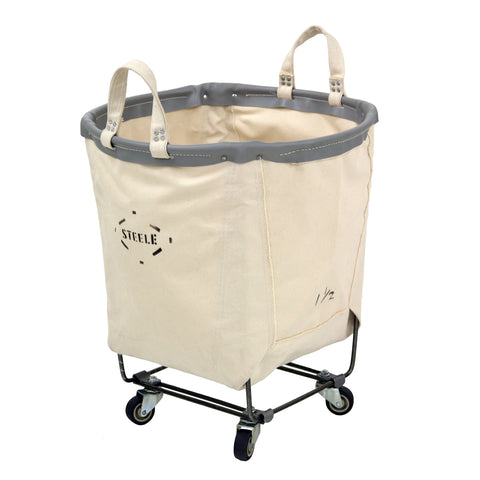 Canvas Round Carry Truck - 1.5 Bu