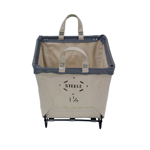 Canvas Small Basket - 1½ Bu
