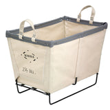 Canvas Small Basket - 2.5 Bu