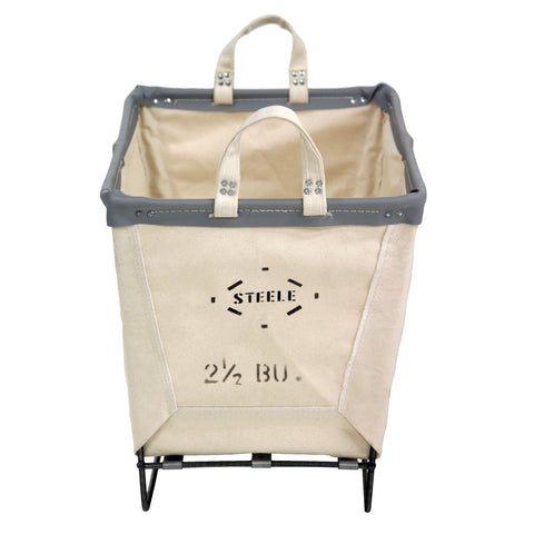 Canvas Small Basket - 2½ Bu