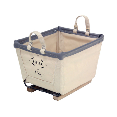 Canvas Small Carry Basket - 1½ Bu