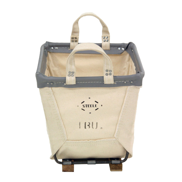Canvas Small Carry Basket - 1 Bu