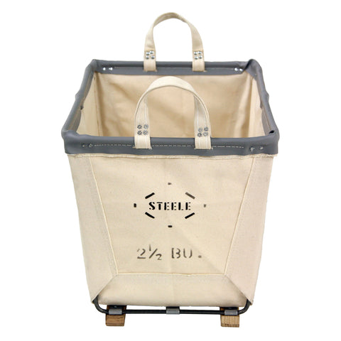Canvas Small Carry Basket - 2.5 Bu