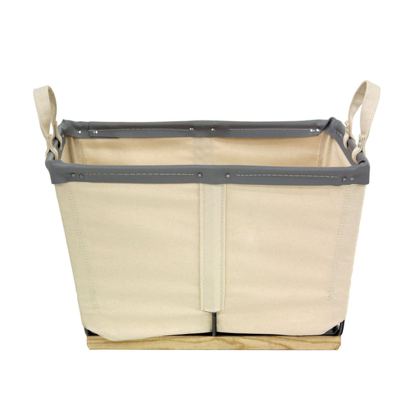 Canvas Small Carry Basket - 2 Bu